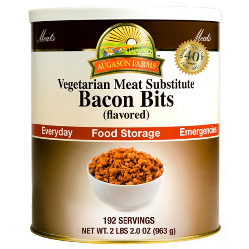 Bacon Flavored Bits Vegetarian Meat Substitute