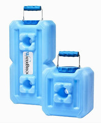 WaterBrick Standard 3.5 Gallon - Blue 10-Pack Stack