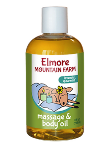 Massage & Body Oil - Lavender Spearmint