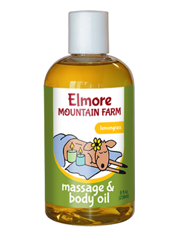 Massage & Body Oil - Lemongrass