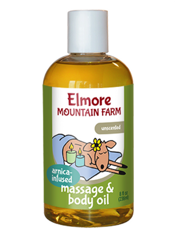 Massage & Body Oil - Arnica-Infused Unscented