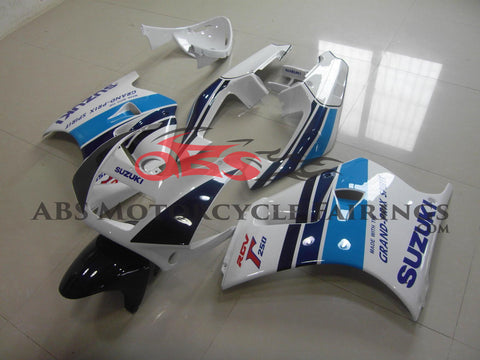 Grand-prix White & Blue 1991-1996 Suzuki RGV250 VJ22