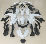 Gloss White Fairing Kit for Yamaha YZF-R3 2015, 2016, 2017, 2018 motorcycles