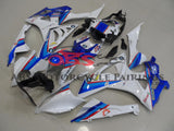 BMW S1000RR (2009-2014) White, Blue & Red Fairings