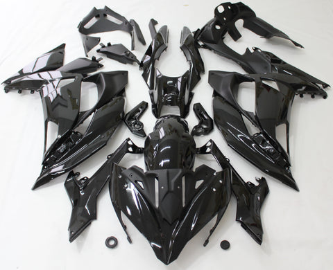 Gloss Black fairing kit for Kawasaki NINJA 650R 2017, 2018, 2019 motorcycles