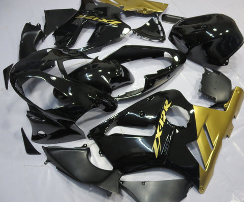 Kawasaki ZX12R (2000-2001) Gold & Black Fairings