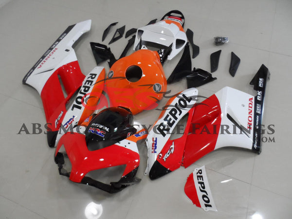 Honda CBR1000RR (2004-2005) Red, White & Orange REPSOL Fairings