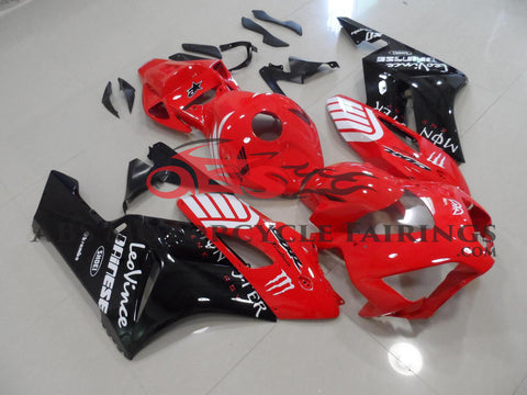 Honda CBR1000RR (2004-2005) Red, Black & White Monster Fairings