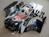Black, White and Blue Limited Edition Fairing Kit for a 2004 & 2005 Honda CBR1000RR motorcycle