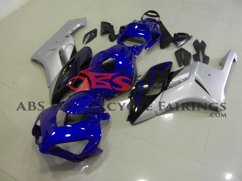 Honda CBR1000RR (2004-2005) Blue, Silver & Black Fairings