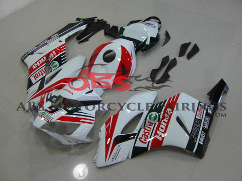 Honda CBR1000RR (2004-2005) White, Red & Black Castrol Fairings
