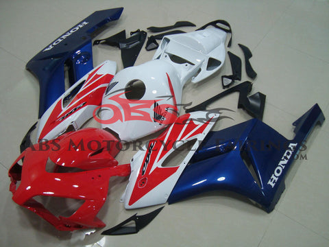 Dark Blue White & Red 2004-2005 Honda CBR1000RR