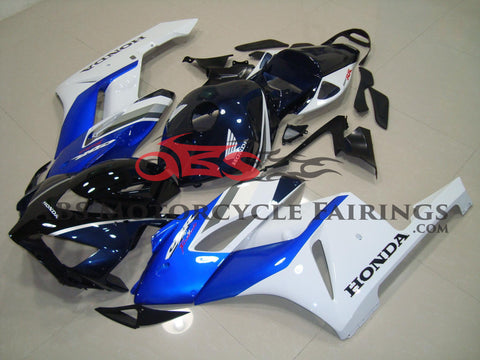 Dark Blue & White 2004-2005 Honda CBR1000RR