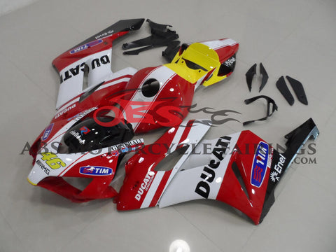 Ducati Style Fairing Kit for a 2004 & 2005 Honda CBR1000RR motorcycle