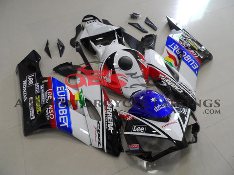 Honda CBR1000RR (2004-2005) Black & White Lee Fairings