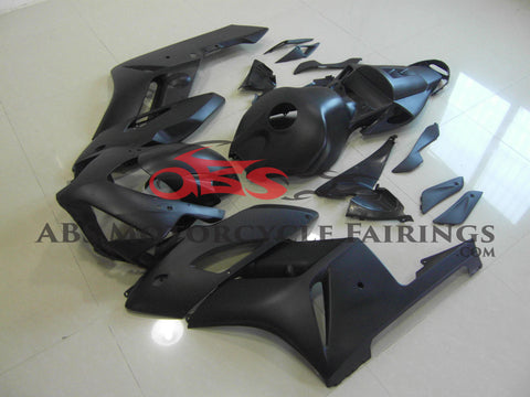 Matte Black & No Decals 2004-2005 Honda CBR1000RR