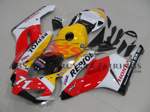 Honda CBR1000RR (2004-2005) Red, White & Yellow REPSOL Fairings