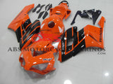 Orange and Black RCV Fairing Kit for a 2004 & 2005 Honda CBR1000RR motorcycle