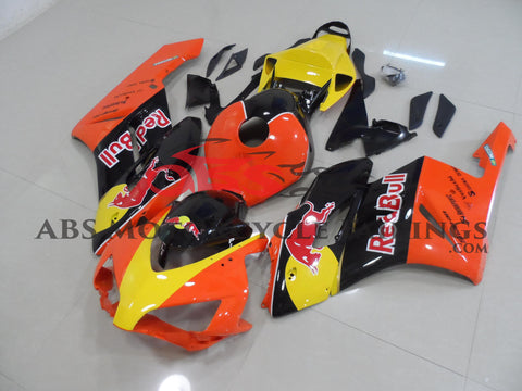 Honda CBR1000RR (2004-2005) Orange, Black & Yellow Red Bull Fairings
