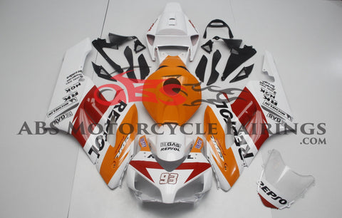 Honda CBR1000RR (2004-2005) White, Orange & Red REPSOL Fairings