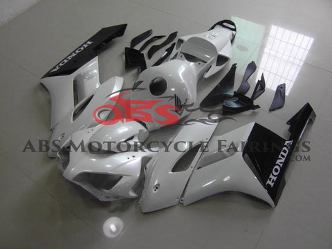 Honda CBR1000RR (2004-2005) White & Black Fairings