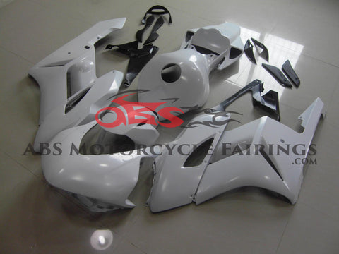 Honda CBR1000RR (2004-2005) All White Race Fairings
