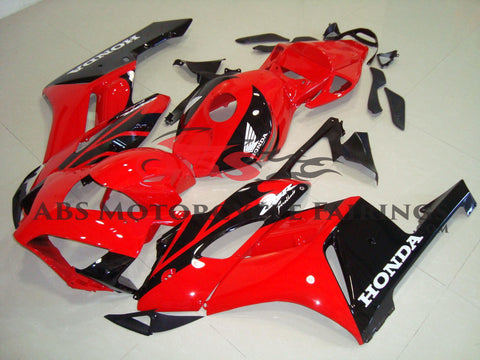 Honda CBR1000RR (2004-2005) Red & Black Fireblade Fairings