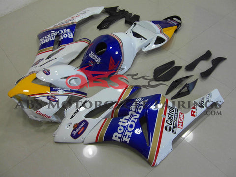 Honda CBR1000RR (2004-2005) White & Blue Rothmans Fairings