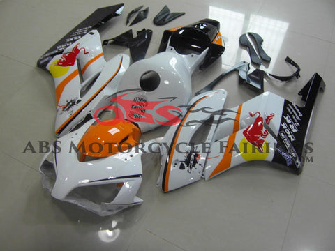 Honda CBR1000RR (2004-2005) White & Orange RED BULL Fairings