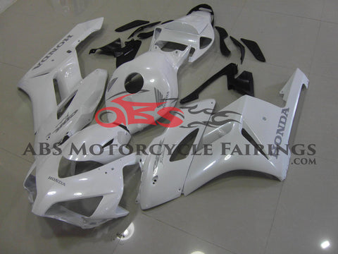 White with Silver Decals 2004-2005 Honda CBR1000RR