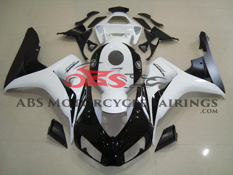 Honda CBR1000RR (2006-2007) White & Black Fairings