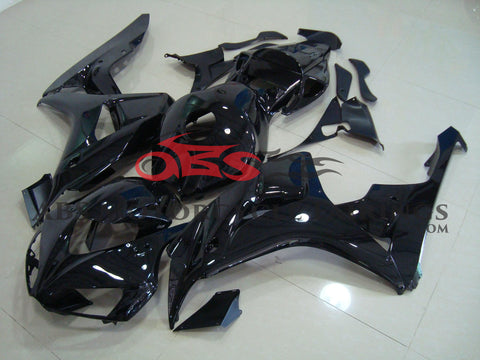 All Gloss Black 2006-2007 Honda CBR1000RR