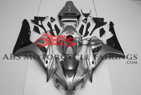 Honda CBR1000RR (2006-2007) Silver & Black Fairings
