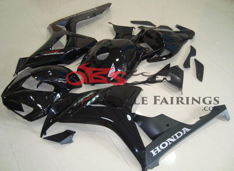 Honda CBR1000RR (2006-2007) Black Fairings