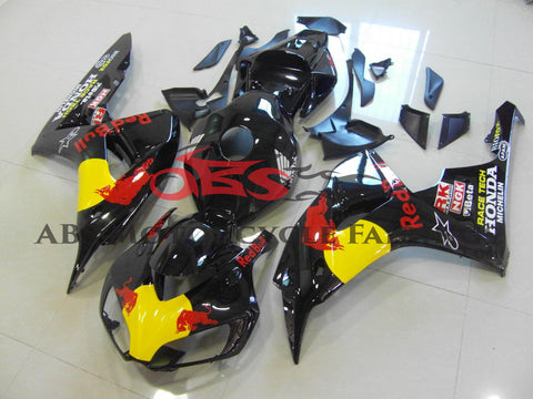 Honda CBR1000RR (2006-2007) Black Red Bull Fairings