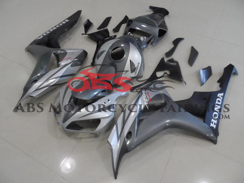 Honda CBR1000RR (2006-2007) Silver & Gray Fairings