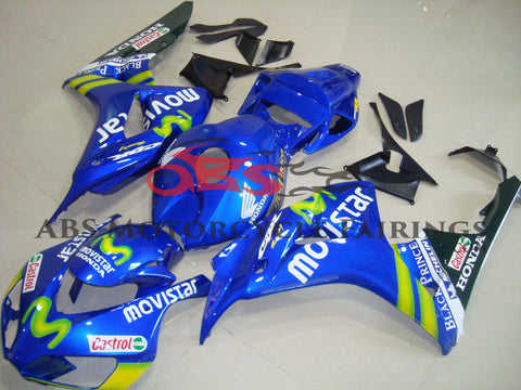 Honda CBR1000RR (2006-2007) Blue & Green MOVISTAR Fairings