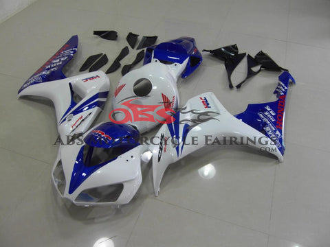 Honda CBR1000RR (2006-2007) White & Blue Fairings