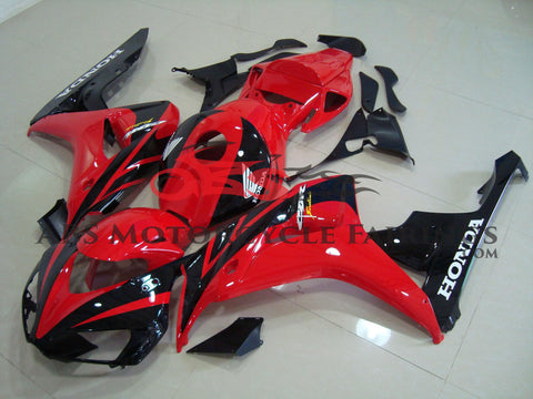 Honda CBR1000RR (2006-2007) Red & Black Fairings