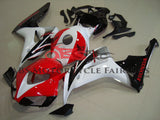 Red, White and Black Fairing Kit for a 2006 & 2007 Honda CBR1000RR motorcycle