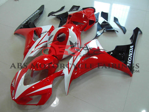 Honda CBR1000RR (2006-2007) Red, White & Black Fairings