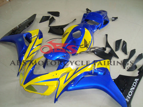 Yellow Blue & Black 2006-2007 Honda CBR1000RR