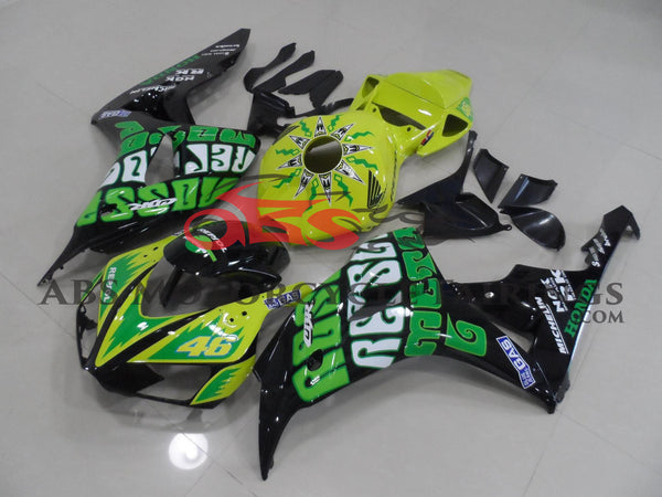 Yellow Green Rossi 2006-2007 Honda CBR1000RR