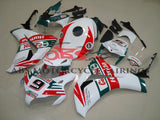 White, Red and Green Castrol #9 Fairing Kit for a 2008, 2009, 2010 & 2011 Honda CBR1000RR motorcycle
