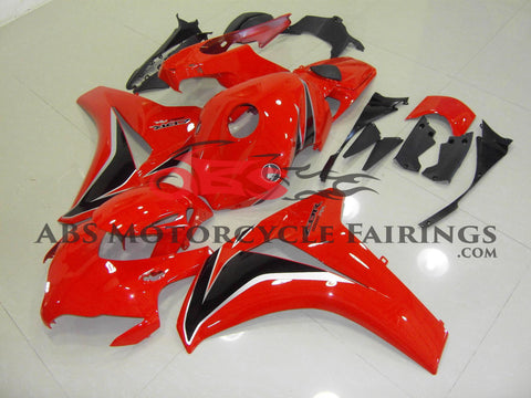 Red Black & Silver 2008-2011 Honda CBR1000RR