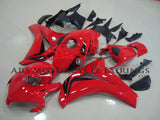 Red and Black Fairing Kit for a 2008, 2009, 2010 & 2011 Honda CBR1000RR motorcycle
