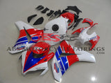 Red, White and Blue TT Legends Fairing Kit for a 2008, 2009, 2010 & 2011 Honda CBR1000RR motorcycle