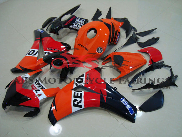 Honda CBR1000RR (2008-2011) Orange, Black & Red Repsol Fairings