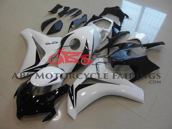 Honda CBR1000RR (2008-2011) White & Black Fairings