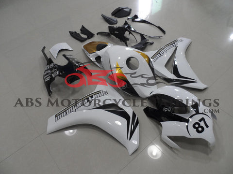 Black White & Gold 2009-2011 Honda CBR1000RR